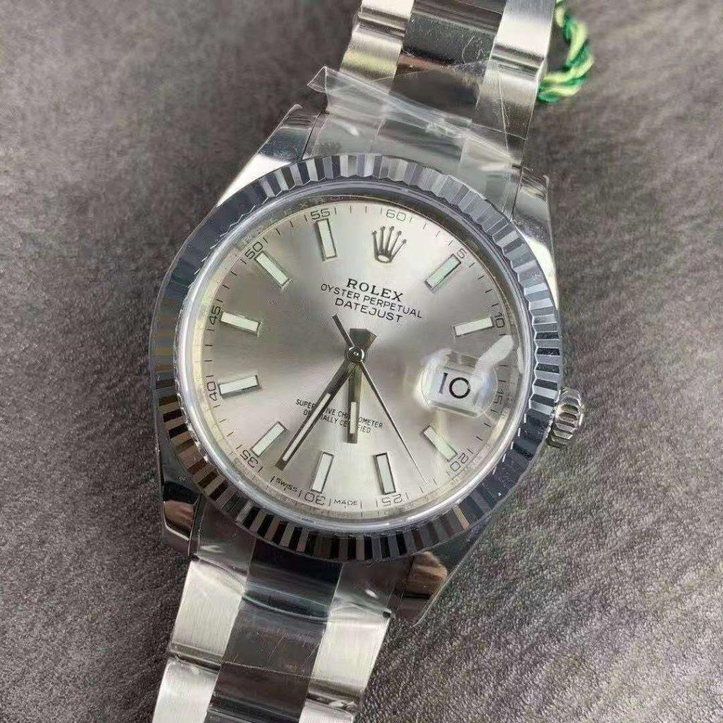 VSF Replica Rolex Datejust II 41mm Silver Watch