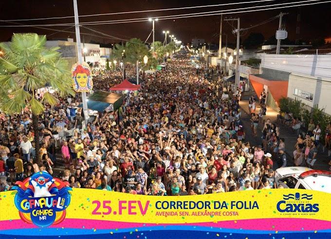 RECORDE - Não é Rio de Janeiro, nem Recife, muito menos Salvador, é o Carnaval de Caxias!