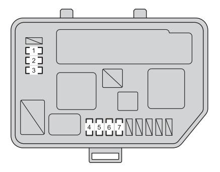 Toyota Yaris Hatchback Mk3 2012 2013 Fuse Box Diagram Auto Genius
