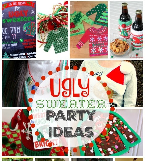 Image for Ugly Christmas Sweater Party Ideas