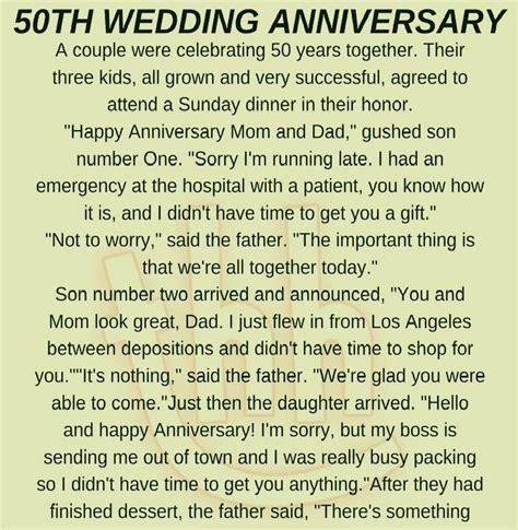 50TH WEDDING ANNIVERSARY! (FUNNY STORY)     Humor