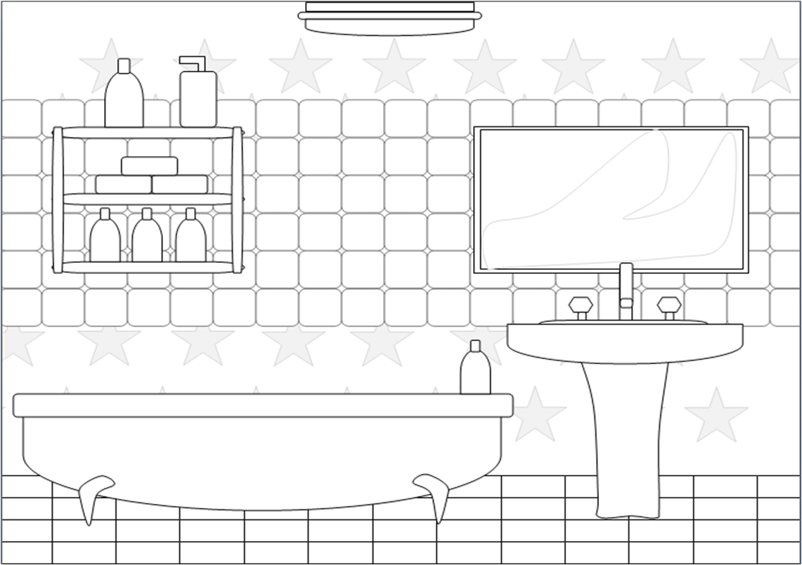 Bedroom Clipart Black And White - Home Design Jobs on