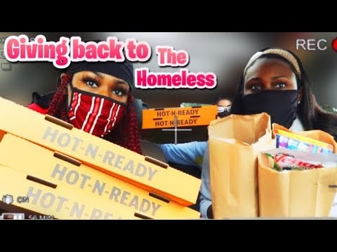 GIVING BACK TO THE HOMELESS ���� | Talli Tattii.. - What @DannyVic is Watching