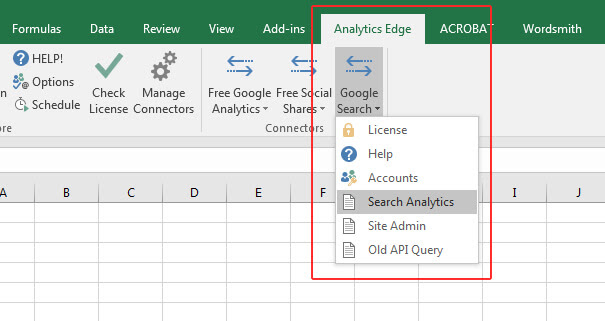 Analytics Edge Search Analytics
