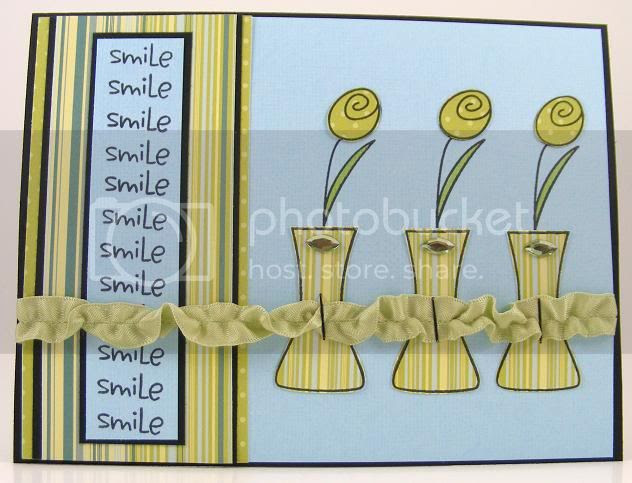 Smile Vases Card