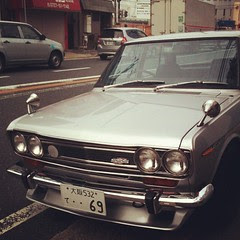 #datsun bluebird sss 1600 : still going #japan