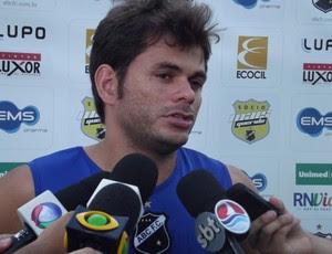 Júnior Xuxa, do ABC (Foto: Tiago Menezes)