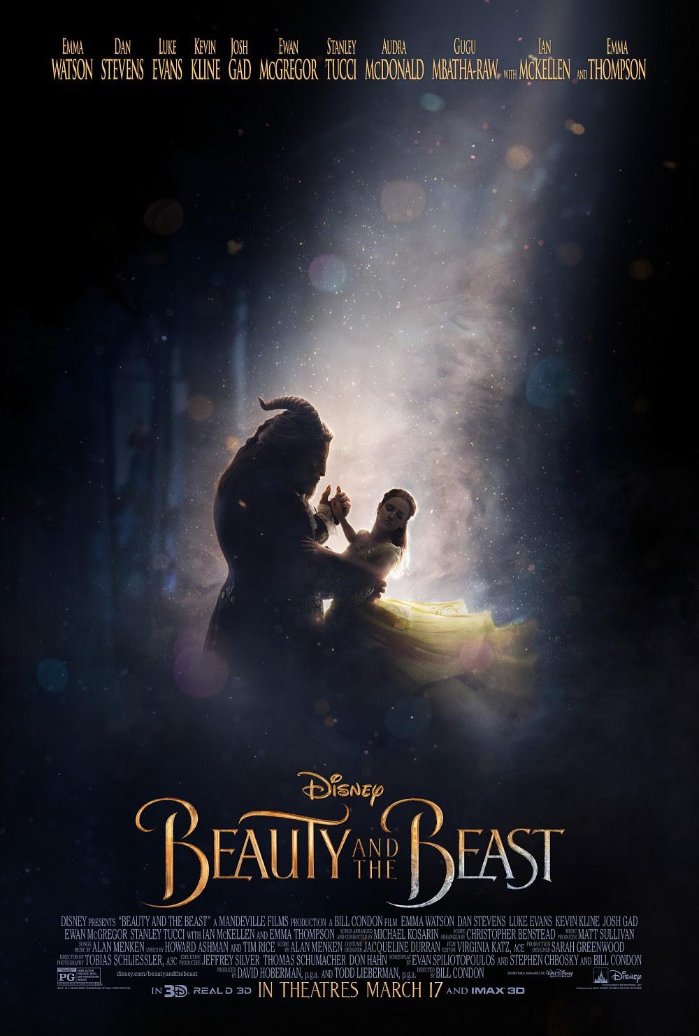 Resultado de imagem para beauty and the beast 2017 posters