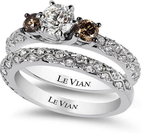 Le Vian Bridal White Certified Diamond And Chocolate