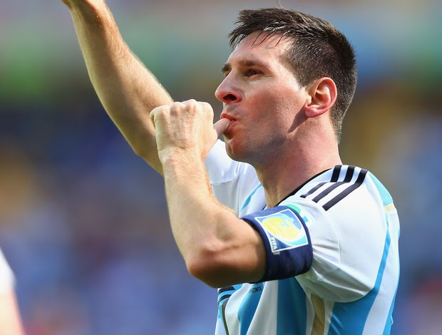 messi argentina x ira gol (Foto: Getty Images)