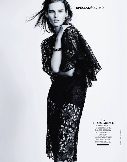 Le Fashion Blog Editorial Lace And Embroidered Goodness Madame Figaro France Belle D'Ajours March 2014 Dolce Gabbana Embroidery Lace Midi Dress 5 photo Le-Fashion-Blog-Editorial-Lace-And-Embroidered-Goodness-Madame-Figaro-France-Belle-DAjours-March-2014-5.jpg