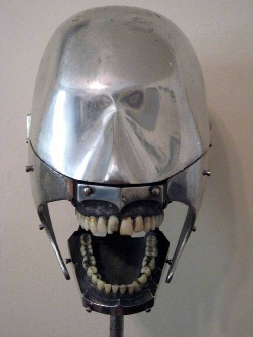 rhea137:  Dental Phantom from the early 1930sThey were used by dental students to practice on.