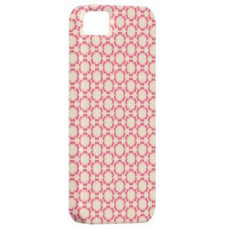 Vintage Pink Floral Design iPhone Case iPhone 5 Cover
