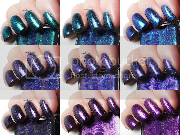 xoxoJen's collage of Glam Polish The Epic Journey collection