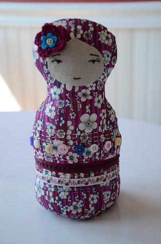 Liberty Matryoshka doll by Jo