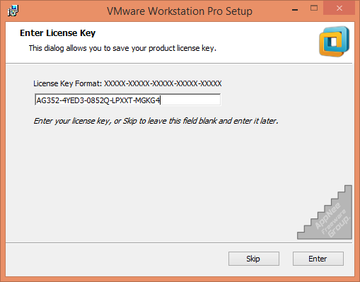 VMware Workstation 4,5,6,7,8,9,10,11,12,14 Universal License Keys collection