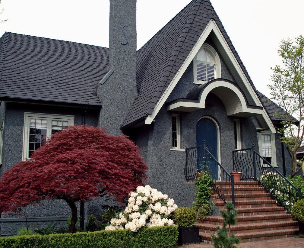 25 Inspiring Exterior House Paint Color Ideas Blue Grey Exterior Paint Colour Schemes