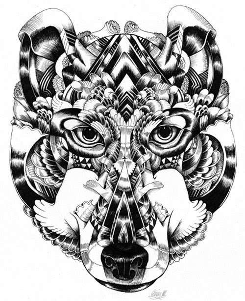 07 AnimalDrawing in Incredibly Amazing Animal Illustrations by Iain Macarthur