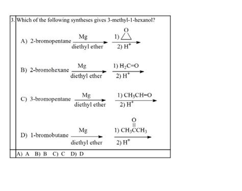 solved     synthesis   methyl