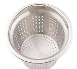 パール金属  アクアスプラッシュ 18-8ステンレス製 排水口 水切りカゴ 13.5cm H-9167