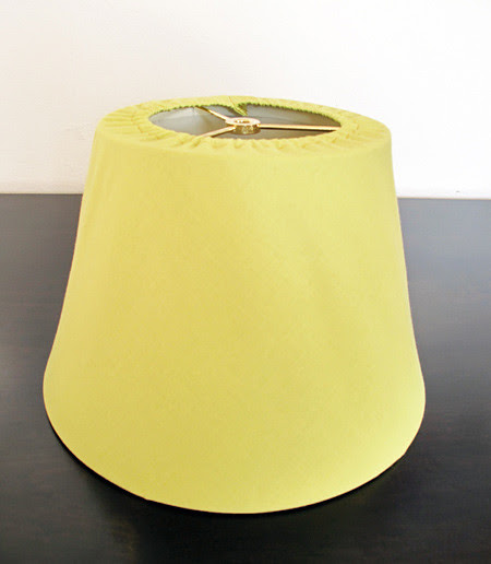 Slip Cover Lamp Shade 17 Tutorial