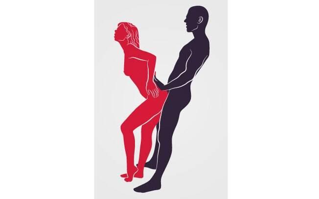 34. OS OPORTUNISTAS: Como quem não quer nada, ela roça o traseiro na intimidade dele. Foto: Renato Munhoz (Arte iG)