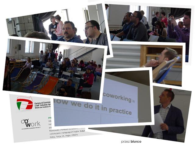 Włoska robota - prezentacja coworkingu biurco dla projektu Coworking Leonardo