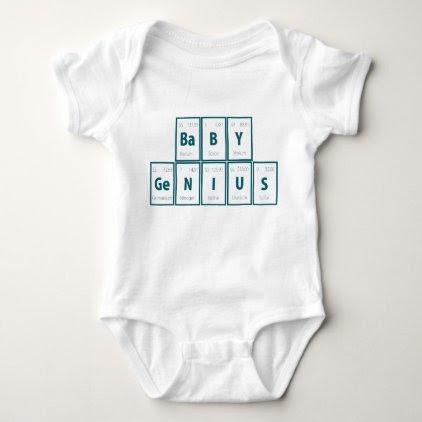 Periodic Table of Elements: Baby Genius Baby Bodysuit