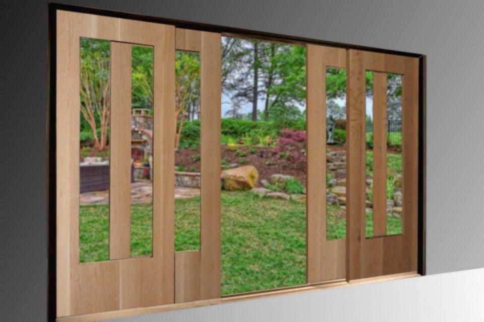 French Sliding Patio Doors Non Warping Patented Wooden Pivot Door Sliding Door And Eco Friendly Metal Cores