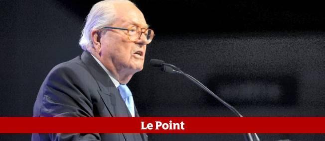 Jean-Marie Le Pen à Marseille mardi soir.