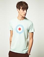 Ben Sherman Throne Target Print T-Shirt