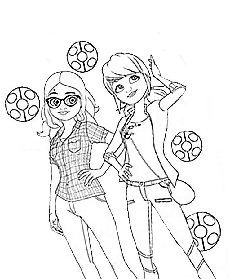 Ladybug Dibujos Para Colorear