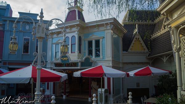 Disneyland Resort, Disneyland, Main Street U.S.A., Refreshment Corner, Coke Corner , Corridor