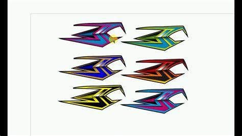 desain striping rx king youtube