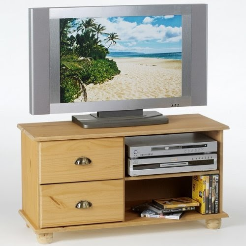 meubles tv meuble tv colmar 2 tiroirs 2 niches. Black Bedroom Furniture Sets. Home Design Ideas