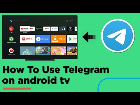 How To Use Telegram On Android TV | Mi Box | Roku TV | Android TV Box | Technical Pic 2021