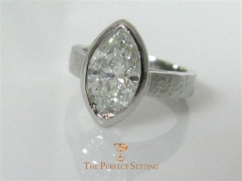 Marquise Diamond Bezel Set Ring ? The Perfect Setting