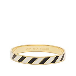 earn your stripes idiom bangle