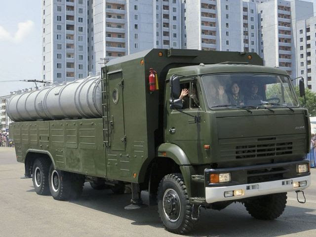 KN-06 Pongae-5 surface-to-air defense missile system vehicle technical ...