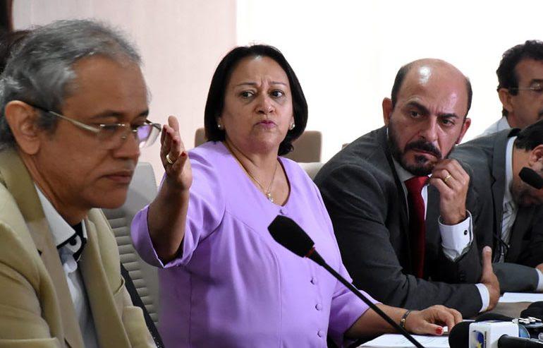 Fátima Bezerra decreta contingenciamento de recursos até fim de 2019