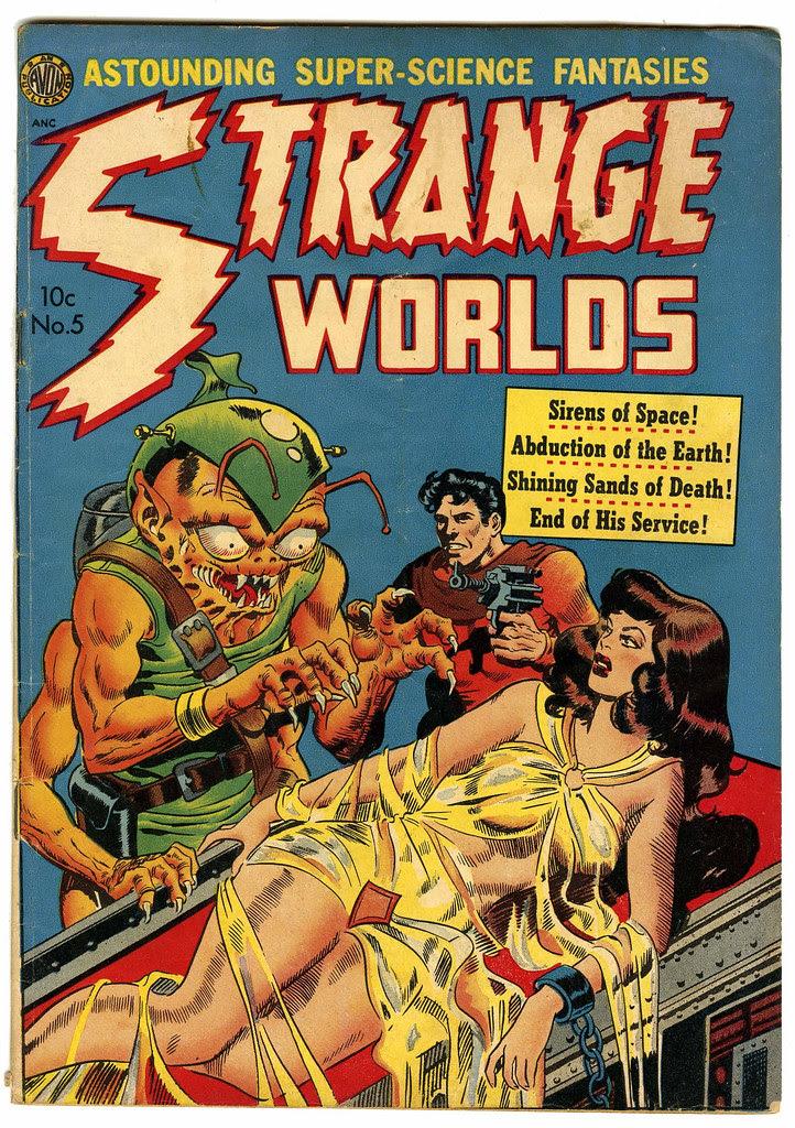 Strange Worlds #5 (Avon)