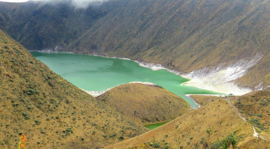 Vulcão Azufral: uma maravilhosa recompensa