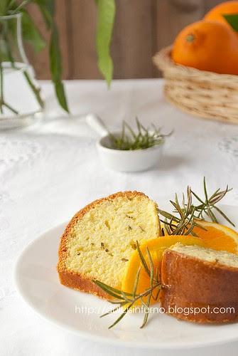 Torta all'Arancia e Rosmarino-Orange and Rosemary Cake