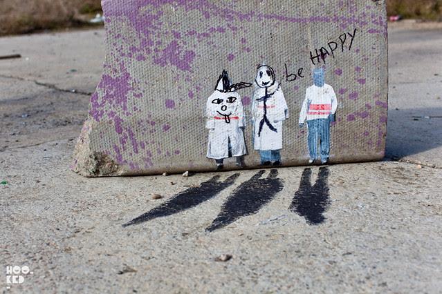 Shoreditch Street Art by Mexican street artist Pablo Delgado
