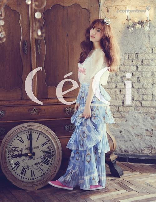 KARA Young Ji - Ceci Magazine March Issue '15