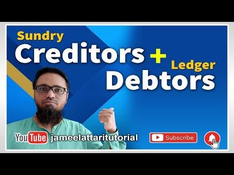 Create Sundry Creditors and Debtors Ledgers in Tally Prime | टेली प्राइम में विविध लेनदार और  विविध देनदार  की लेजर कैसे बनाएं
