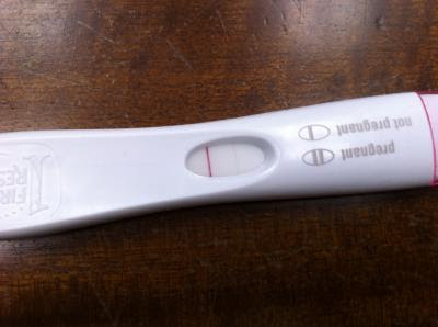 First Response Pregnancy Test False Negative - Pregnancy