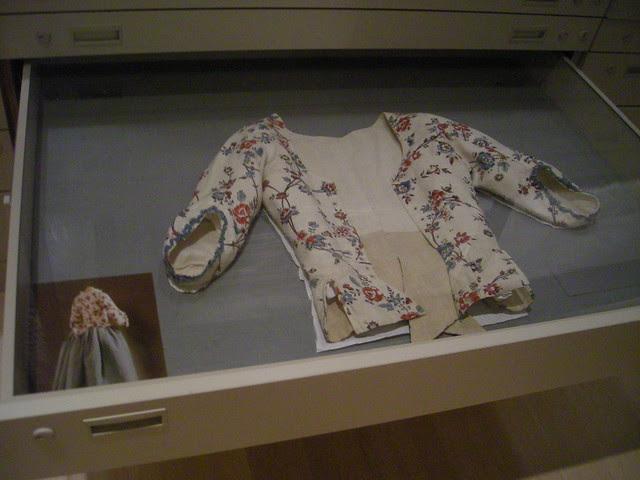 late 18th-century cotton print jacket