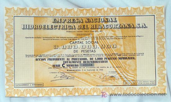 Resultado de imagen de Empresa Nacional Hidroeléctrica del Ribagorzana