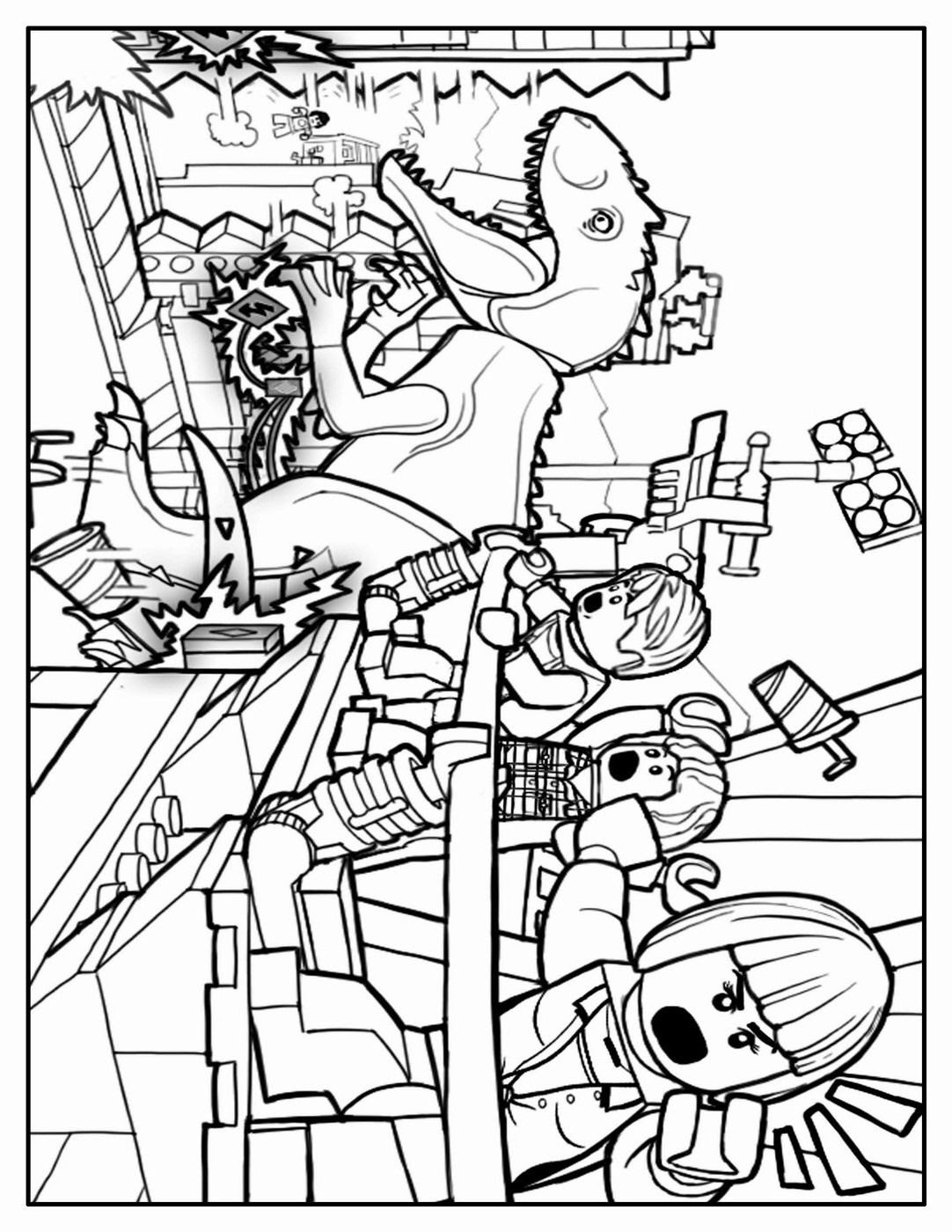 Trends For Printable Lego Jurassic World Coloring Pages Anyoneforanyateam